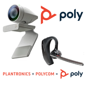 poly Webcam u. Headset